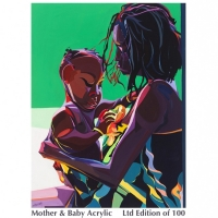 Mohter & Baby acrylic