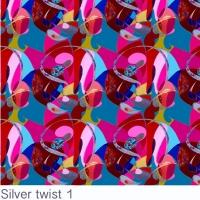 Silver Twist fabric