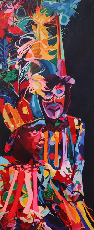 Mask Carnival Canvas