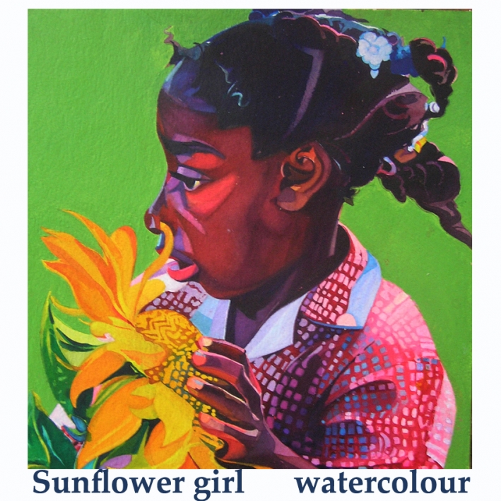 sunflower girl wc