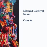 Masked Carnival canvas