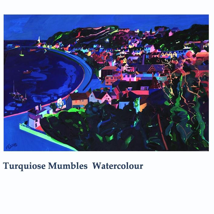 Turquoise mumbles