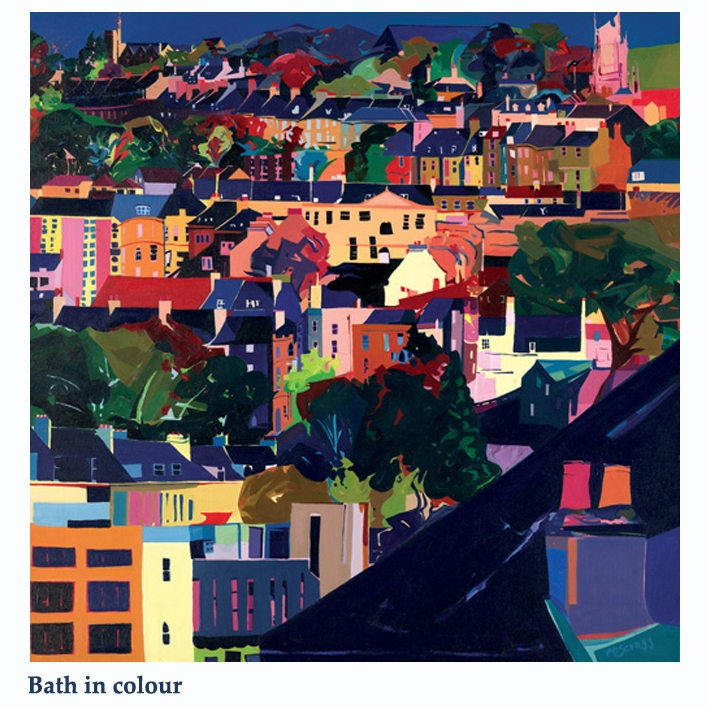 bath in colour