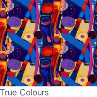 True Colours fabric