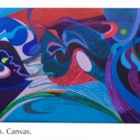 beaneath the waves canvas