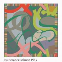 exuberance slamon pink square scarf