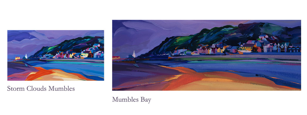 visual of mumbles paintings