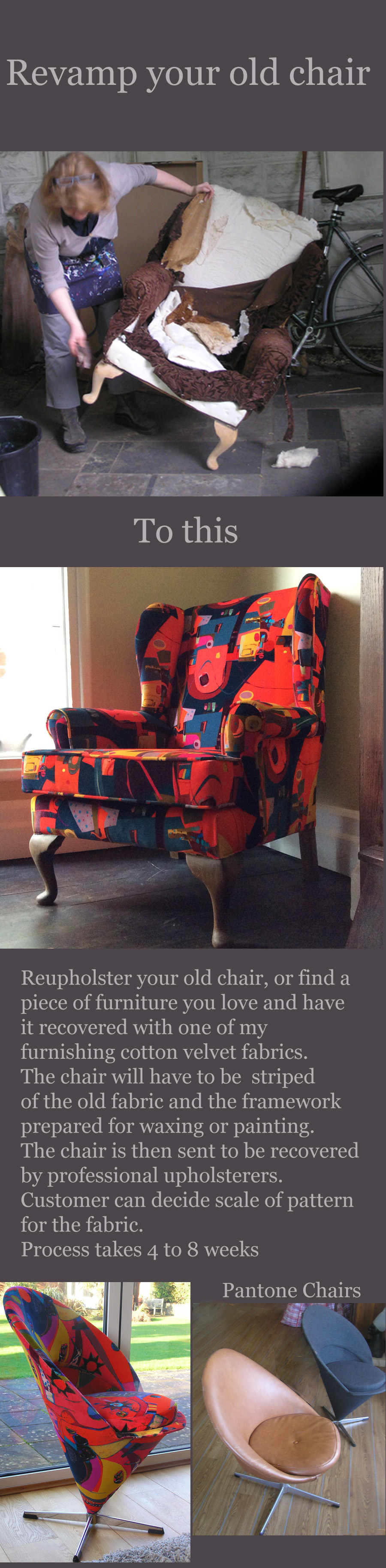revamp a chair block finished