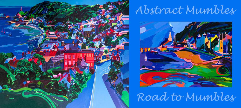 Road to Mumbles & Abstract Mumbles